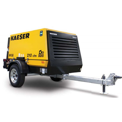 210 Kaeser Portable Compressor Rental